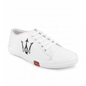 Steemo White Casual Shoes