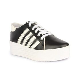 Steemo Black Casual Shoes