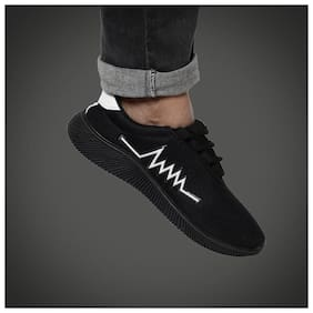 STEPFIT Men Black Casual Shoes