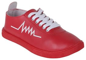 STEPFIT Men Red Sneakers