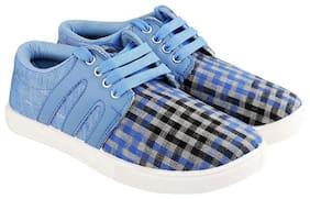 Stepfit Men Check Multi Colour Casual Shoes