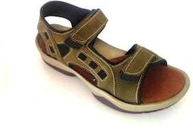 Stone Iceland Green Floater Sandals