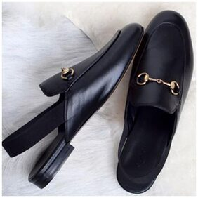 STREETSTYLESTORE Women Black Sandals