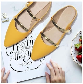 STREET STYLE STORE Yellow Flats