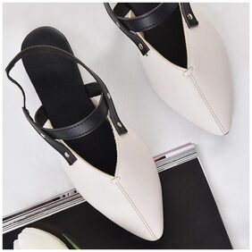STREET STYLE STORE White Flats