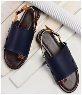STREETSTYLESTORE Synthetic Blue Flats & Sandals For Women