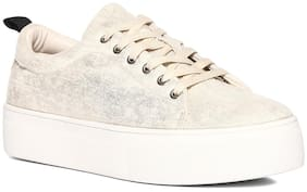 Stride Women Gold Casual Shoes