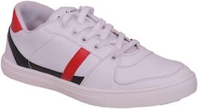 Sukun Men 9579 White Sneakers