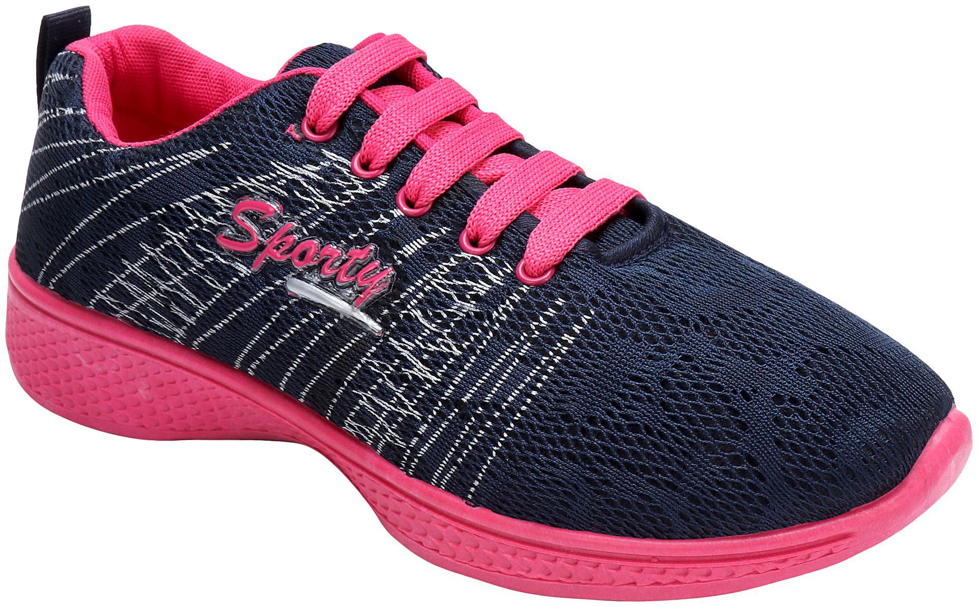 Super Matteress Running Shoes For Women   Black   by Vinod Kumar