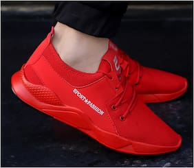 Suson Men Running Shoes ( Red )