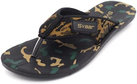 SVAAR Men Green Outdoor Slippers