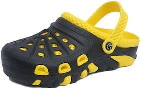 Svaar Black and Yellow Men's Crocs