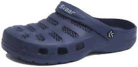 SVAAR Men Navy Blue Sandals & Floaters