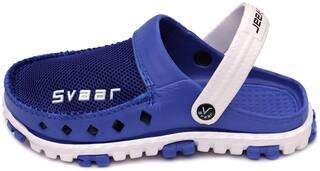 SVAAR Men Blue Clogs