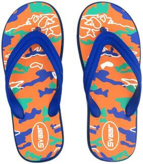 Svaar Multi-Color Printed Flip Flops
