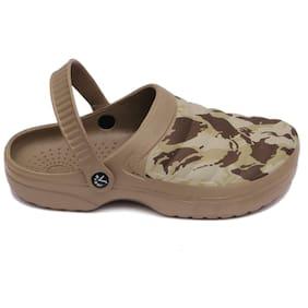 SVAAR Men Khaki Sandals & Floaters