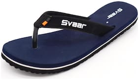 Svaar Velvet Touch Slippers for Women - Navy
