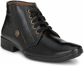 Swag Onn Men Black Outdoor Boots