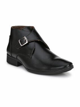 Swag Onn Men Black Boot - Ak-5-black