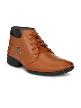Swag Onn Men Tan Boot - Ak-6-tan