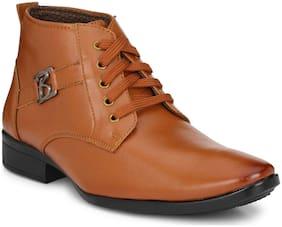 Swag Onn Men Tan Outdoor Boots