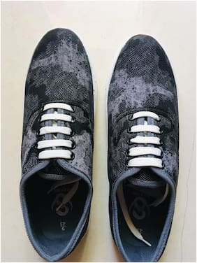 SWAGGY WEARS Men Black Canvas Shoes