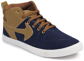 Swiggy Men Blue Sneakers