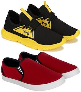 Swiggy Men Combo(O)-1635-1058 Running Shoes ( Multi-Color )