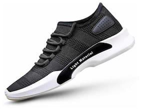 Swiggy Men Black-1598 Running Shoes ( Black )