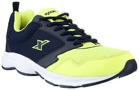 Sparx Men's Blue & Green Running Shoes (SM-258)