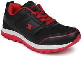 Sparx Men's Black & Red Running Shoes (SM-502)