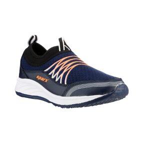 Sparx Men's Blue & Orange Running Shoes (SM-506)