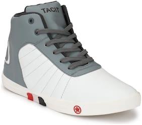 TACIT Men Grey Sneakers