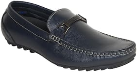 Tanny Shoes Men Blue Loafers - LOAFERS