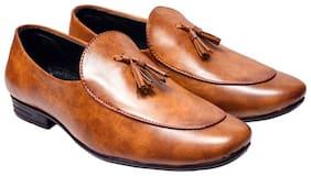 FANTUM Men Tan Loafers