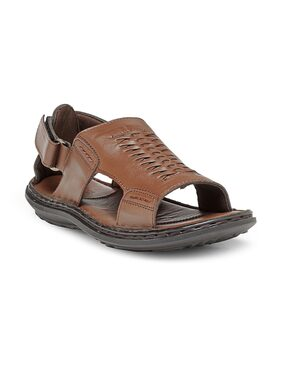 Teakwood SH12042 Men Brown Sandals & Floaters