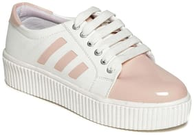 TEN Women Pink Casual Shoes