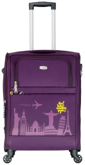 Timus Salsa Wine Check In 65 Cm 4 Wheel Strolley Suitcase For Travel