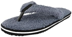 Travelkhushi Men Grey Flipflop