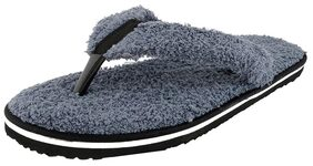 Travelkhushi Grey Flip Flops - Men - Memory Foam