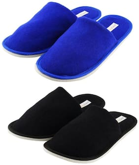 Travelkhushi Home Slippers  - Combo Pack of 2 Pairs