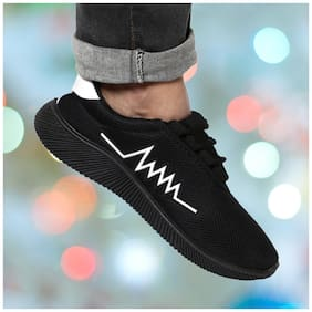 Men Black Classic Sneakers ,Pack Of 1 Pair