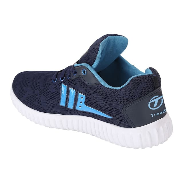 Blue Navy Men Shoes Treadfit Casual