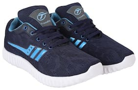 Treadfit Global Star Premium Navy Blue Men Casual shoes With Free Anti Dust pollution Face Mask