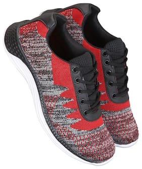 Walking Shoes For Men ( Red;Black;White )