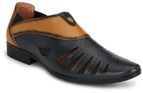 Trendigo Men Multi-color Casual Shoes - 32_black_tan_