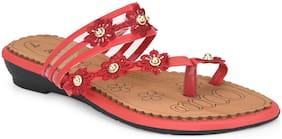 Women Sandals ( Red )