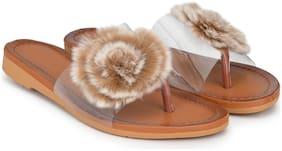 Women Sandals ( Beige )