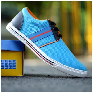 Trendigoo Blue Casual Lifestyle Shoes For Men