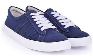 TRENDY LOOK Women Blue Sneakers